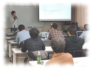 Lecture scene at Shikumi and Application Seminar