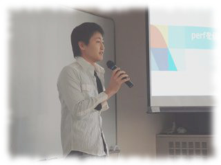 Mr. Egawa at talk